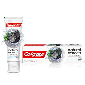 Colgate, Charcoal, Natural extract, Toothpaste