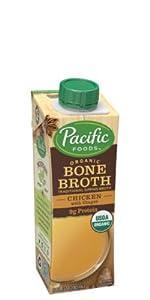 Organic Chicken with Ginger Bone Broth