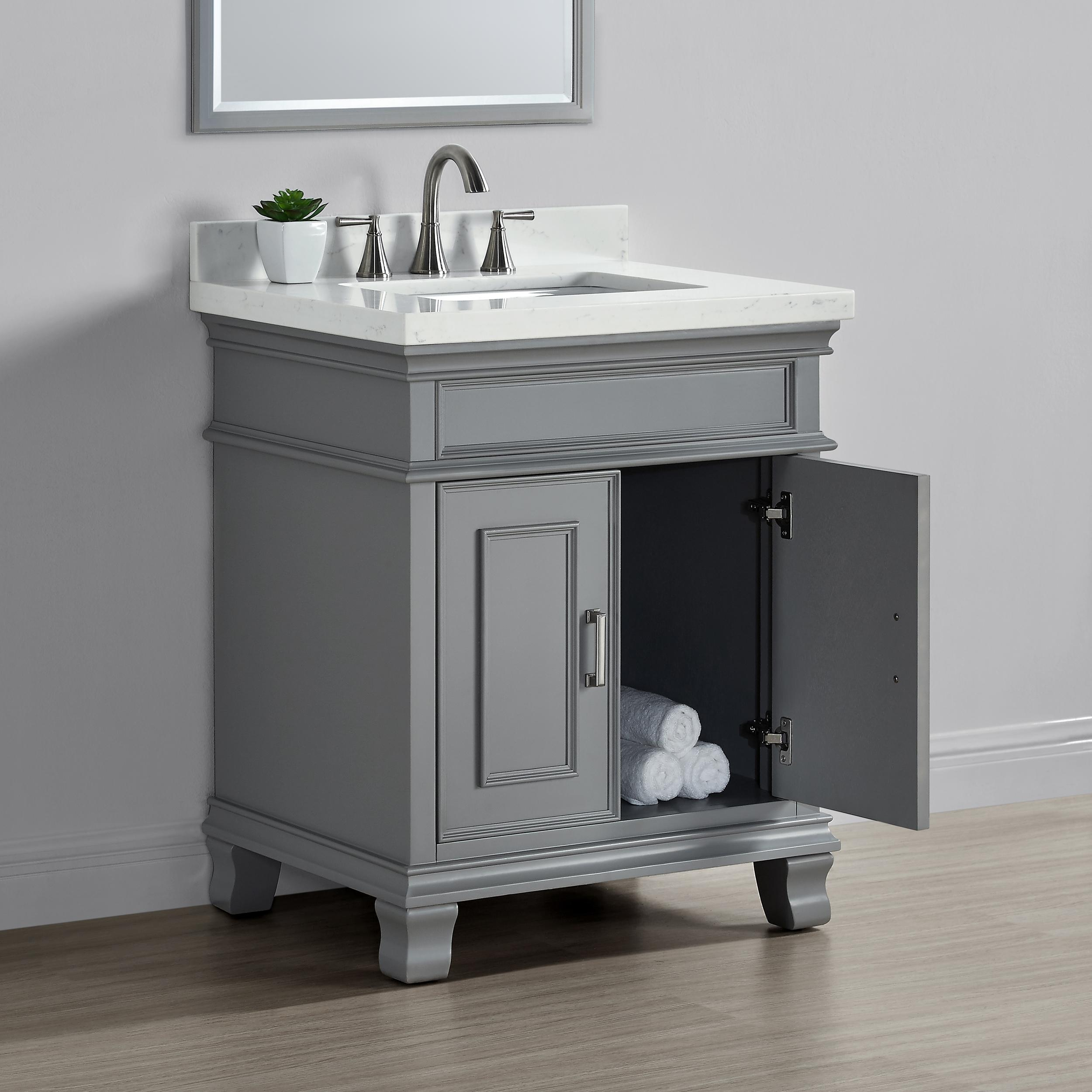 "Amazon.com: Mission Hills 28"" Single Sink Middleton Vanity"