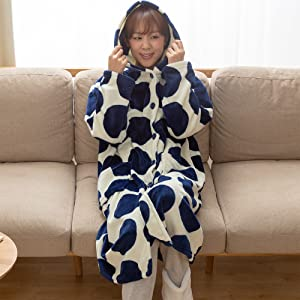 mofuaの着る毛布ならではの、あったかさと肌触りのよさです。