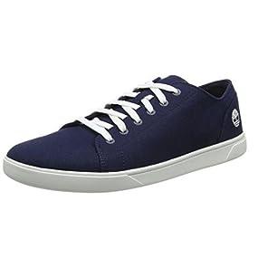 Timberland Oxford Canvas Cordones Zapatos Para Hombre De Bayham TrTqz