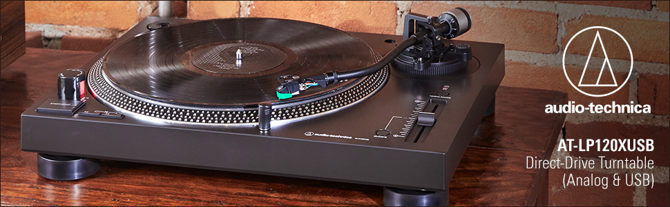 AT-LP120XUSB Direct-Drive Turntable