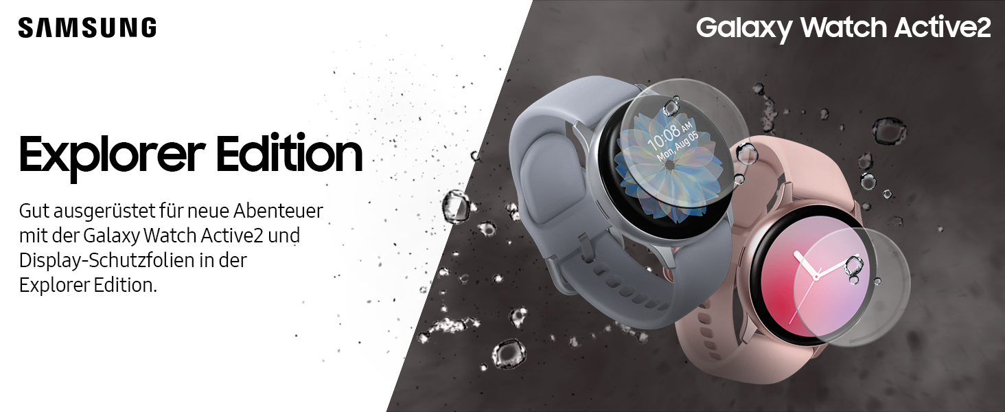 Samsung Galaxy Watch Active2 Aluminium 44 mm um 169,99€ anstatt 198€