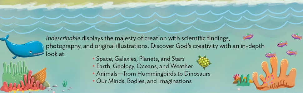 Space, planets, oceans, and nature books