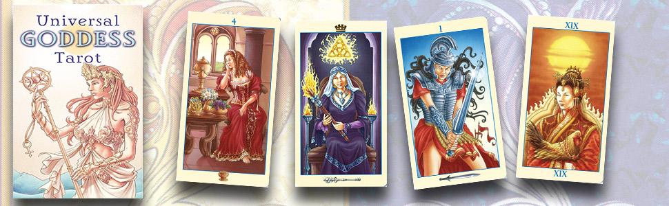 Universal Goddess Tarot (English and Spanish Edition): Lo