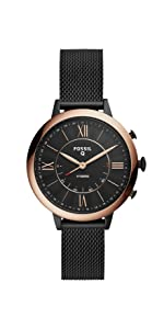Amazon.com: Fossil Womens Jacqueline Stainless Steel and ...