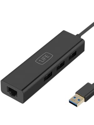1Life HUB USB 3.0 HUB 3 con Puerto LAN RJ45: 1Life: Amazon.es ...