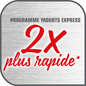 yaourtiere seb multidelices express YG661500 rapide 4 heures