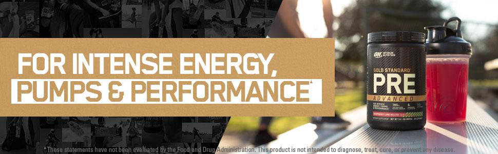 optimum nutrition pre workout