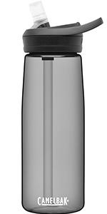 camelbak, eddy water bottle, plastic water bottle, reusable water bottle, water bottle with straw