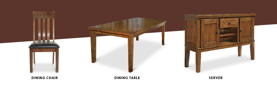 dining chair table server