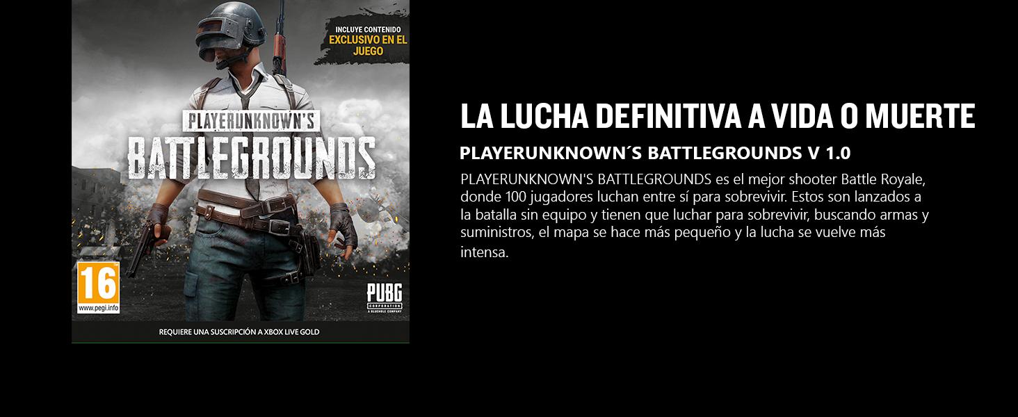 PUBG 1.0 - Playerunknowns Battlegrounds: Microsoft: Amazon.es ...