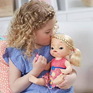 Amazon Com Baby Alive Sweet Tears Baby Blonde Toys Amp Games