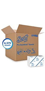 Scott Pro Folded Towels