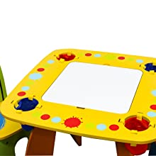 Amazon.com: Crayola Wooden Table And Chair Set: Toys & Games