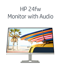 HP 24fw Monitor with Audio