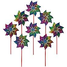 rainbow whirl pinwheel