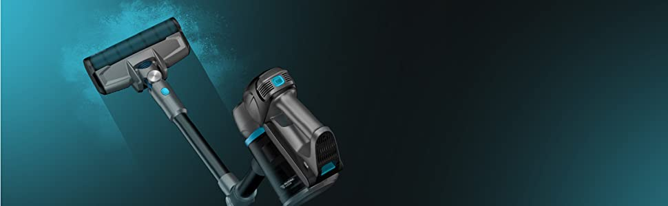 Cecotec Aspirador Escoba Conga Rockstar 500 X-Treme ErgoFlex. Motor Digital Brushless, Potencia 430 W, Presión succión 24KPa, Autonomía hasta 65 min: Amazon.es: Hogar