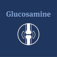 Ingredients, Glucosamine, a natural anti-inflammatory, soothes pain, improves dog joint lubrication