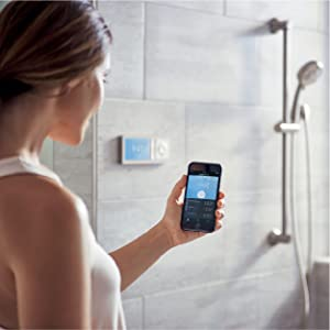 moen, technology, u by moen, smart shower