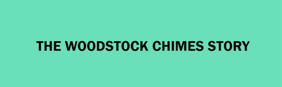 Woodstock Wind Chimes Guaranteed Musically Tuned Authentic
