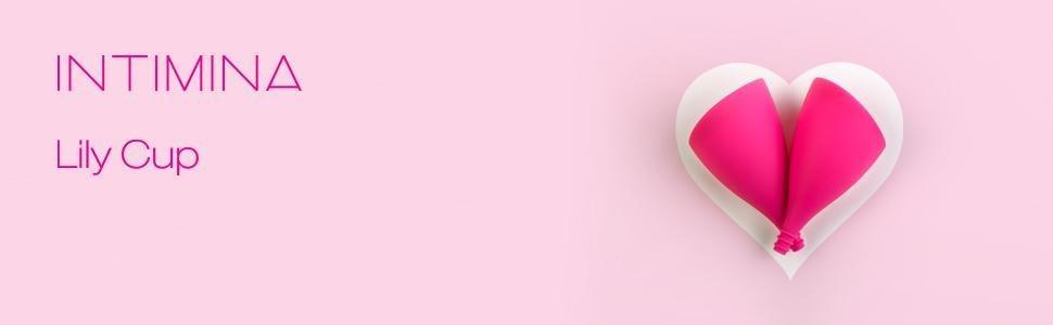 Intimina Lily Cup tamaño B, Copa menstrual ultra suave, protección reutilizable para el período hasta 12 horas, silicona de grado médico para el ...