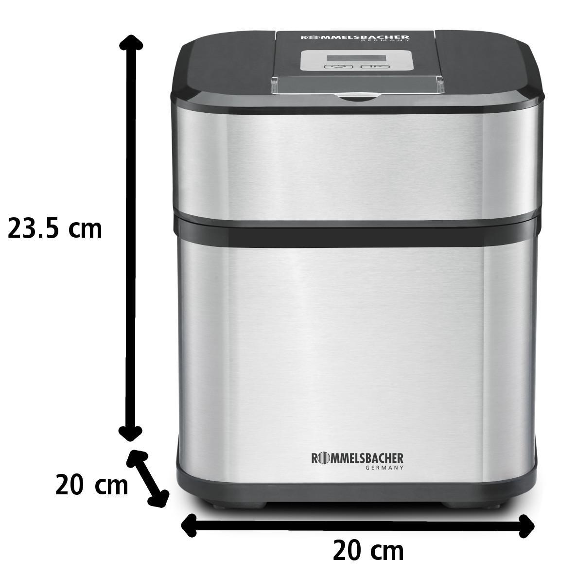 Amazon.de: ROMMELSBACHER IM 12 Eismaschine 'Kurt' (4-in-1
