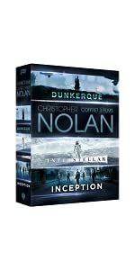 coffret;Nolan;DVD;Dunkerque;Dunkirk;Interstellar;inception;cadeau;Noel