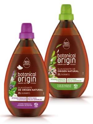 Botanical Origin Suavizante para Ropa Ecológico Apto para Pieles ...