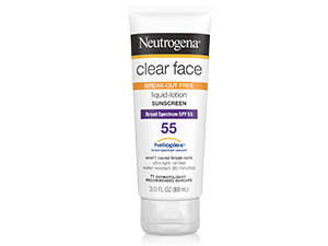 Neutrogena Clear Face break-out free liquid lotion