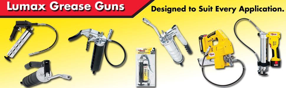 Lumax Grease Guns
