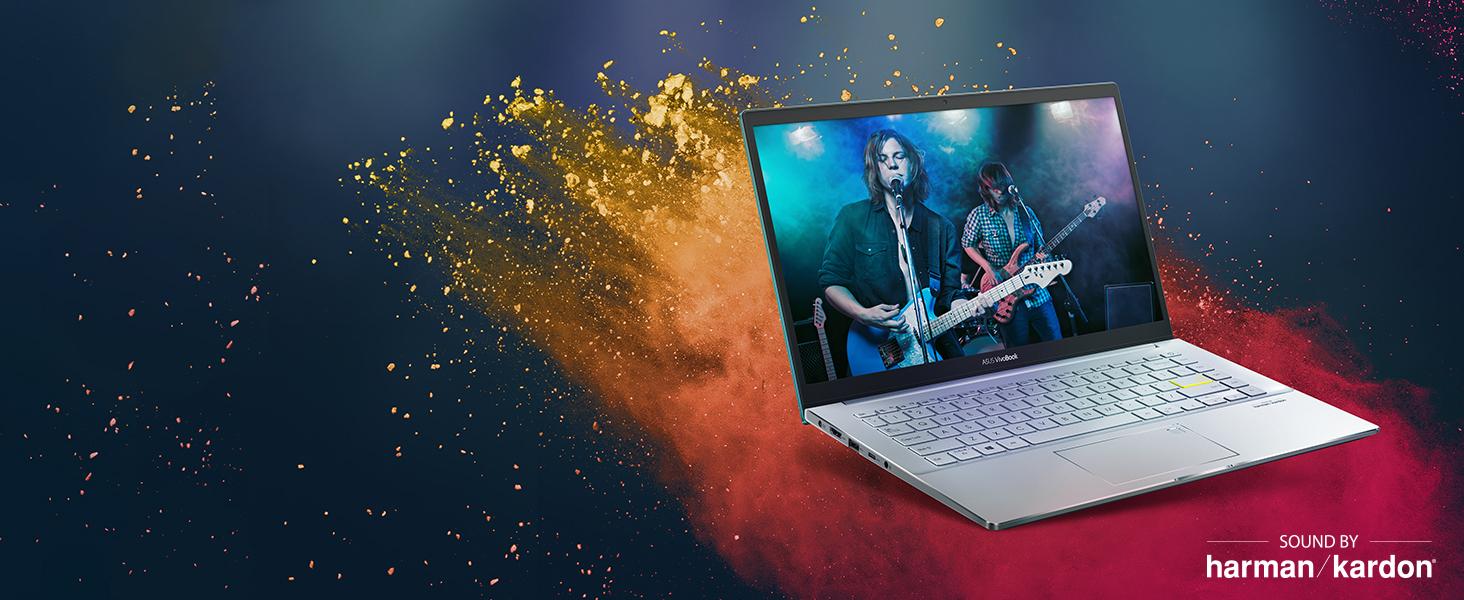 "Amazon.com: ASUS VivoBook S14 S433 Thin and Light 14"" FHD Display, Intel  Core i5-10210U CPU, 8GB DDR4 RAM, 512GB PCIe SSD, Windows 10 Home, Dreamy  White, S433FA-DS51-WH: Computers & Accessories"