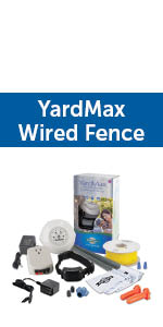 yardmax in-ground fence; invisible fence; wired fence; hidden dog fence; in-ground dog fence; doggy