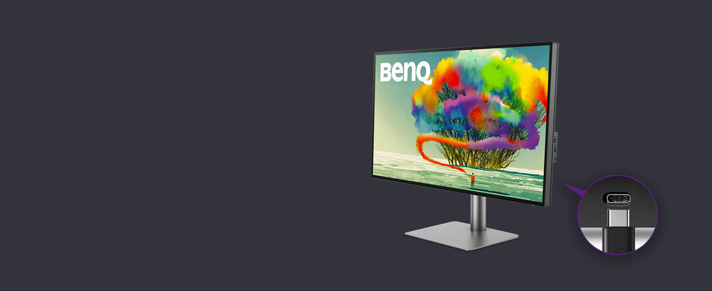 BENQ PD2720U, DesignVue, Usb Port-C