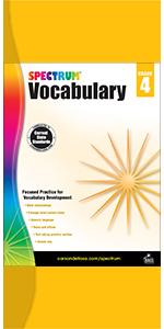 spectrum vocabulary grade 4 workbook