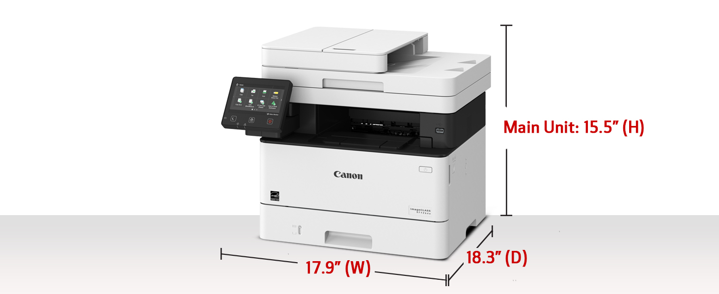 Canon imageCLASS MF426dw Monochrome Printer with Scanner Copier & Fax, Amazon Dash Replenishment enabled