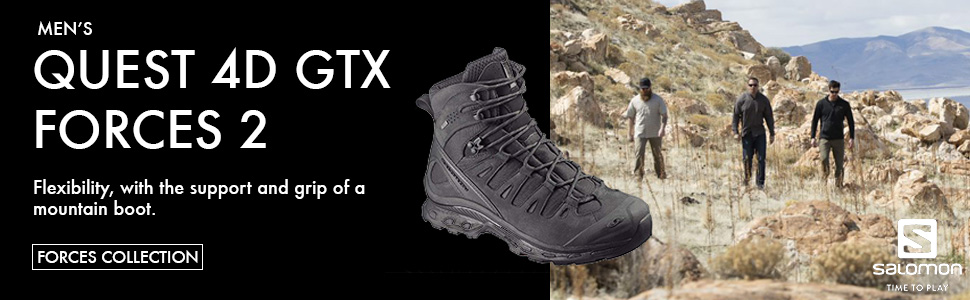 Salomon Forces Quest 4D GTX 2 EN Tactical Shoes