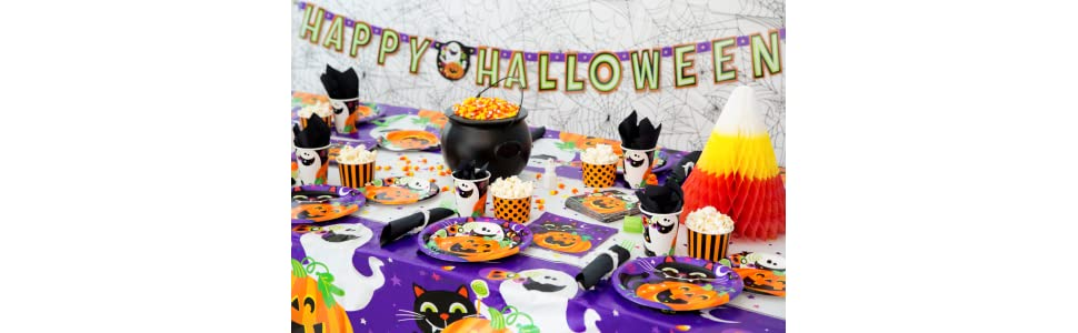 Happy Halloween Party Supplies by Unique