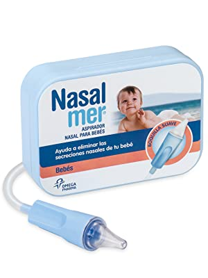 Nasalmer Aspirador Nasal para Bebés - Ideal para quitarle los ...