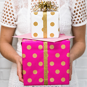 gift wrap gift bags
