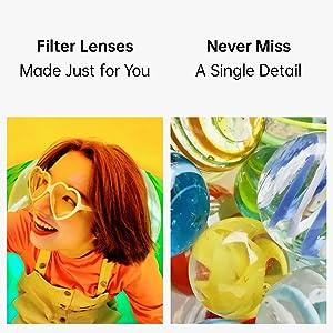 Filter lenses