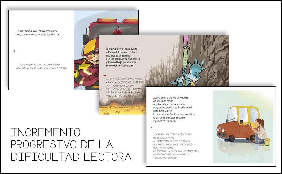 libros aprender a leer, cuentos con valores, libros educativos, libros niños, dos tipos de letra,