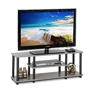 furinno turnntube no tools 3tier tv stands