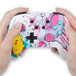 PowerA - Mando inalámbrico mejorado Pokémon Battle (Nintendo Switch): Amazon.es: Videojuegos