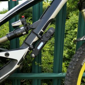 ROCKBROS Bike Foldable Lock Anti Theft Cycling Burger Chain Key Lock AU STOCK