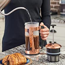 How To Espro Press P5 French Press Pour Water