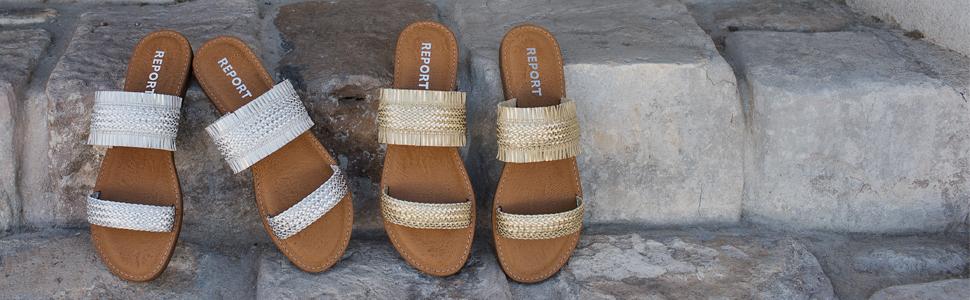 Report Women's Garam Flat Sandal