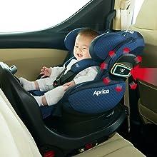 R129 プロテクター サイドシールド 側突 赤ちゃん 安全 回転式 ベッド