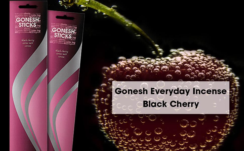 gonesh everyday incense black cherry