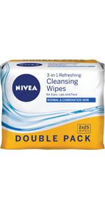 wipes; face wipes; facial cleansing wipes; daily essentials; cleansing wipes; refreshing face wipes